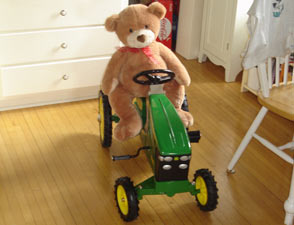 Kid's Bike - John Deere Tractor
