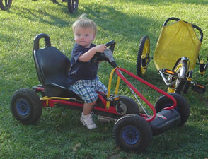 Pedal Go Cart - Small (Kid's)